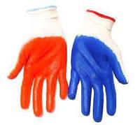 Перчатки стрейч, женские с нитриловым покрытием