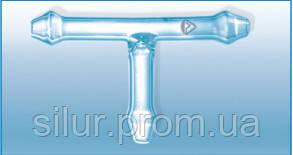 Соединительная трубка Т-образная 10 мм