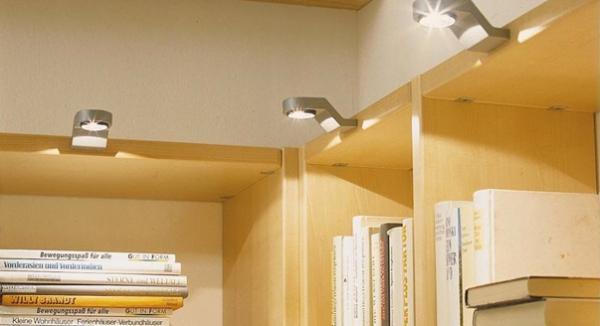 Мебельные светильники: преимущества и установка