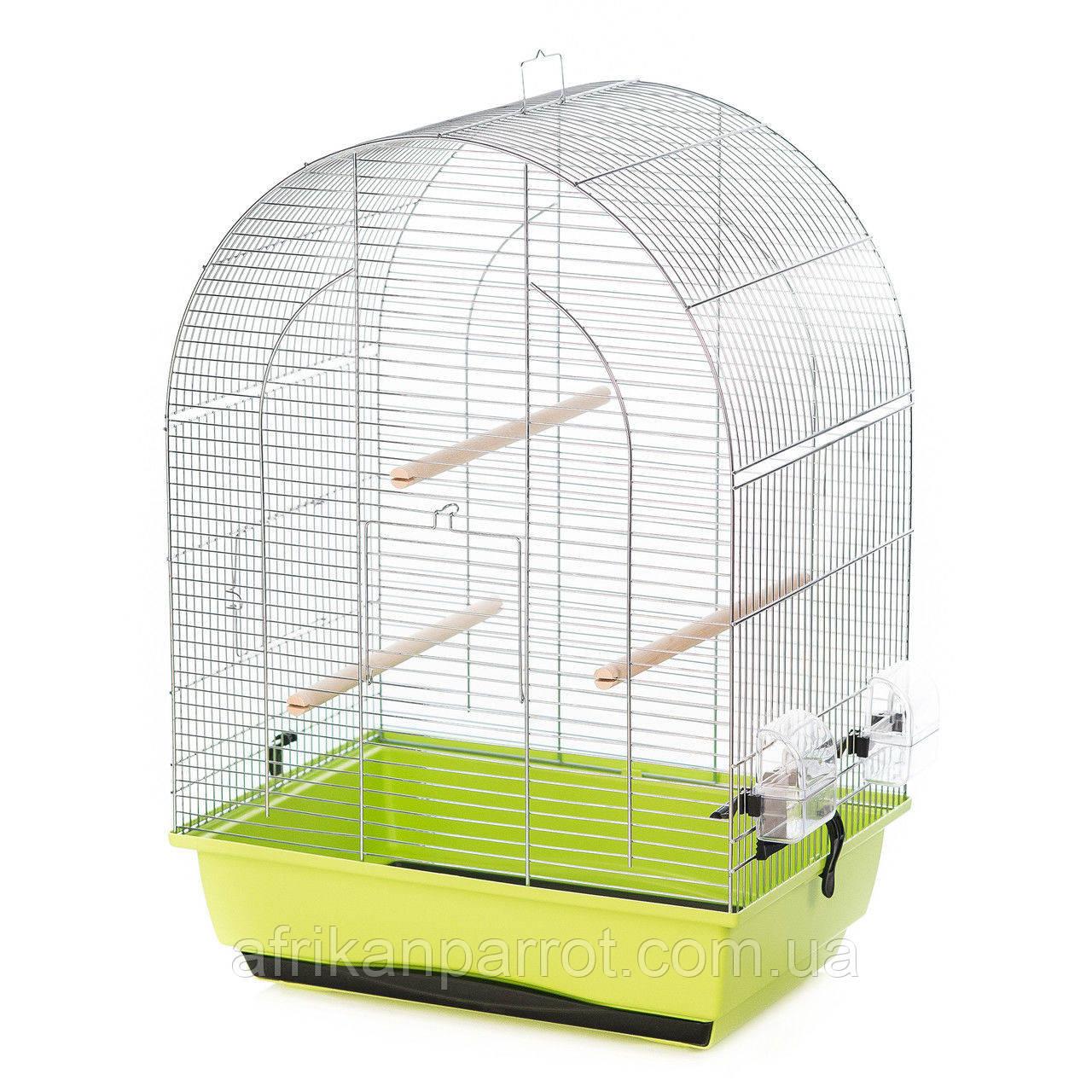 Клітка для середнього папугу LUSI II EXTRA ZINC 45*32*64