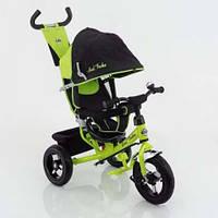 Велосипед детский трехколесный с надувными колесами Best Trike 5555