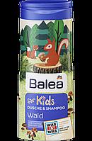 Balea детский шампунь-гель для душа Wald 300мл