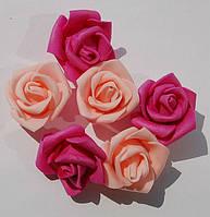 Роза латекс, цветная 3 см