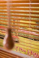 Жалюзи  горизонтальные Бамбук Отбеленный производство под заказ приглашаем дилеров