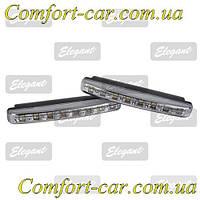 Дневные ходовые огни Elegant Compact 100 240 (8LED, 2*8 Вт.)