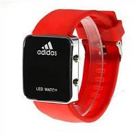 Спортивные часы LED WATCH, Лед красные ( код: IBW004R )