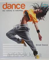 """Тетрадь школьная 36 листов/линия """" Танцы-15"""", 1В 678901"""