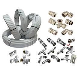 Металлопластиковые трубы. фитинги для металлопластиковых труб.