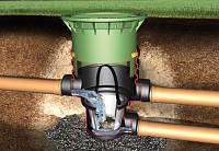 340020 Универсальный фильтр3 (дренажная шахта), (цвет зеленый) пластиковый люк с замком