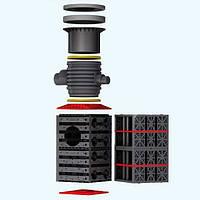 """450051 Колодец """"Vario 800 Flex"""" (тип 2) объем 420 л ( для двух и более слоев)"""