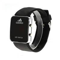 Спортивные часы LED WATCH, Лед черные ( код: IBW009B )