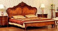 Кровать двухспальная серия 205 AMD Китай натуральное дерево 180х200
