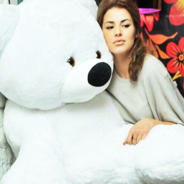 Большой плюшевый медведь 200 см