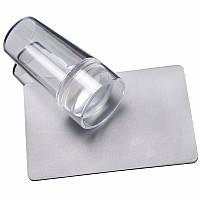 Штамп прозрачный с силиконовой подушкой