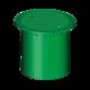 340053 Телескопическая крышка DN 400 пластик, для пешеходных зон (цвет зеленый)