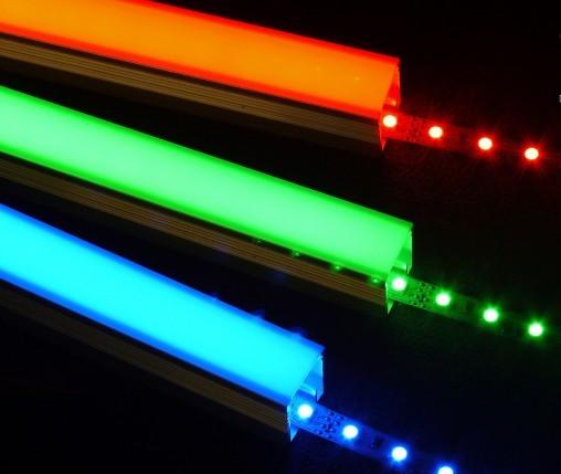 Светодиодная (LED) лента и светодиодный профиль