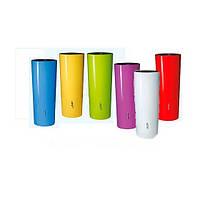 """326210 Емкость """"Цветная"""" 350 л, + ваза (шесть цветов)"""