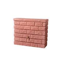 """326131 Емкость """"Каменная кладка"""" 400 л (цвет красный камень)"""