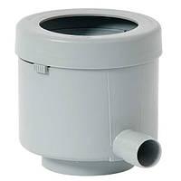 """503015 Фильтр """"De Lux""""для водосточной трубы (DN 100) (цвет серый)"""