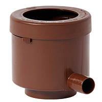 """503010 Фильтр """"De Lux""""для водосточной трубы (DN 70) (цвет коричневый)"""