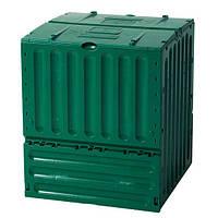 627003 Компостер Eco - King green 400 л (контрукция розборная, цвет зеленый)