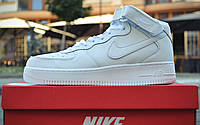 Кроссовки Nike Air Force 1 Mid All white