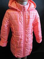 Однотонные курточки с бантиком для девочек., фото 1
