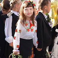 Вышиванка для девочки Киевляночка, фото 1