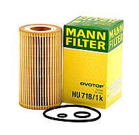 Фильтр масляный вставка Mercedes Vito 2.2CDI 96-03 Mann HU718/1k