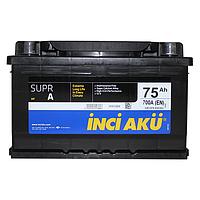 Аккумулятор Inci Aku SuprA LB1 50Ah-12v (207x175x190) правый +