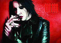 Плакат Marilyn Manson 01