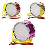 Игрушечный барабан 2112-13-14 (наличие цвета уточняйте)