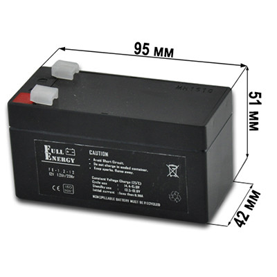 Аккумулятор FE-1.2 Ач