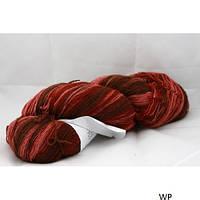 Цветная пряжа  Кауни brown-pink 400 Пряжа из 100% овечьей шерсти подходит для ручного вязания рукоделия кауни