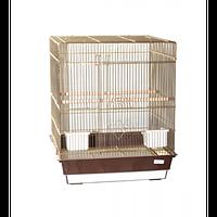 Клетка для птиц Pion (Lucky Fox - золото) 47,5*47,5*56 см