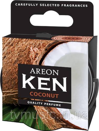 Ароматизатор AREON Ken Coconut (Кокос)