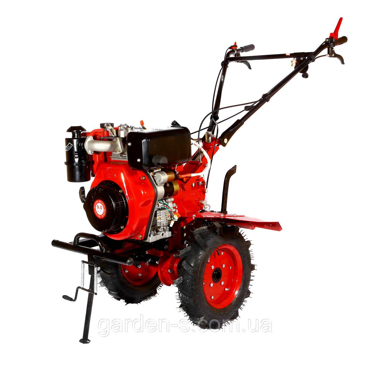 Мотоблок WEIMA WM1100В (дизель 9л.с., колеса 4.00-10) Бесплатная доставка