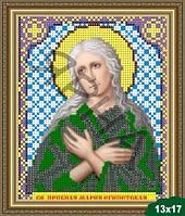 Вышивка бисером Икона (5058-Св.Пр Мария Египет),(),ИКОНА(Украiна),(гр),(м)