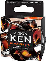 Ароматизатор AREON Ken Black Crystal (Черный Кристалл)