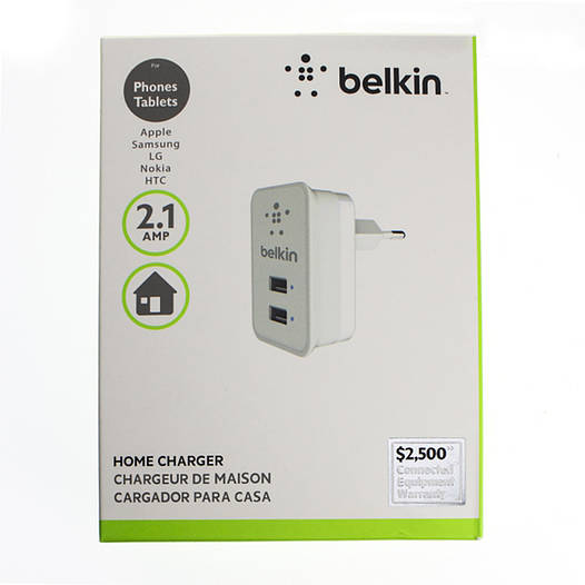 Зарядное устройство BELKIN BEL-007 2USB F8J053