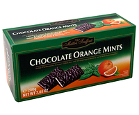 Шоколад с апельсином и ментолом Maitre Truffout Chocolate Orange Mints, 200 г, фото 1