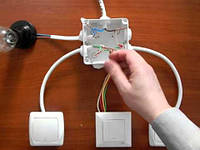 Установка и подключение выключателей
