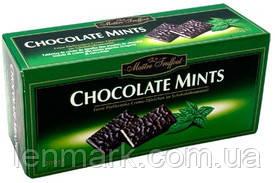 Шоколад  мятный Maitre Truffout Chocolate Mints , 200 г