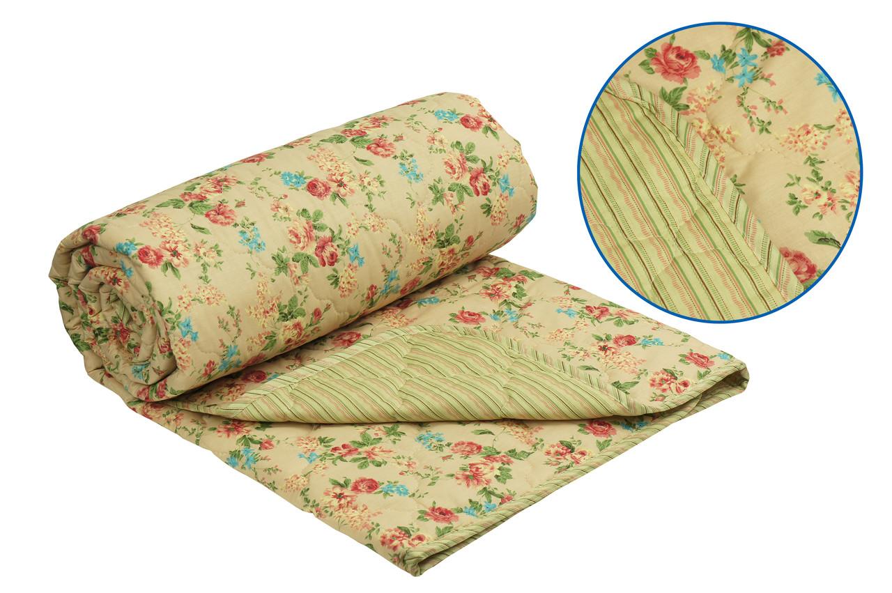 Одеяло Руно English style серия Комфорт шерстяное двуспальное  172x205 см 160г/м.кв (316.115ШК )