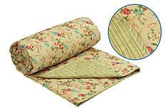 Одеяло Руно English style серия Комфорт шерстяное полуторное  140x205 см 160г/м.кв (321.115ШК)