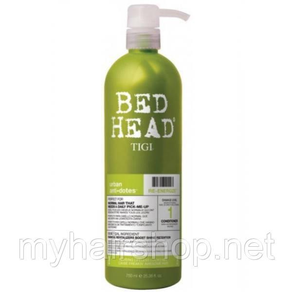 Кондиционер для ежедневного ухода для нормальных волос TIGI Urban Antidotes Re-energize Conditioner 750мл