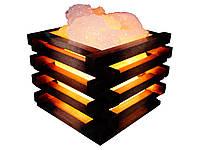 Соляной светильник Корзина  4 кг