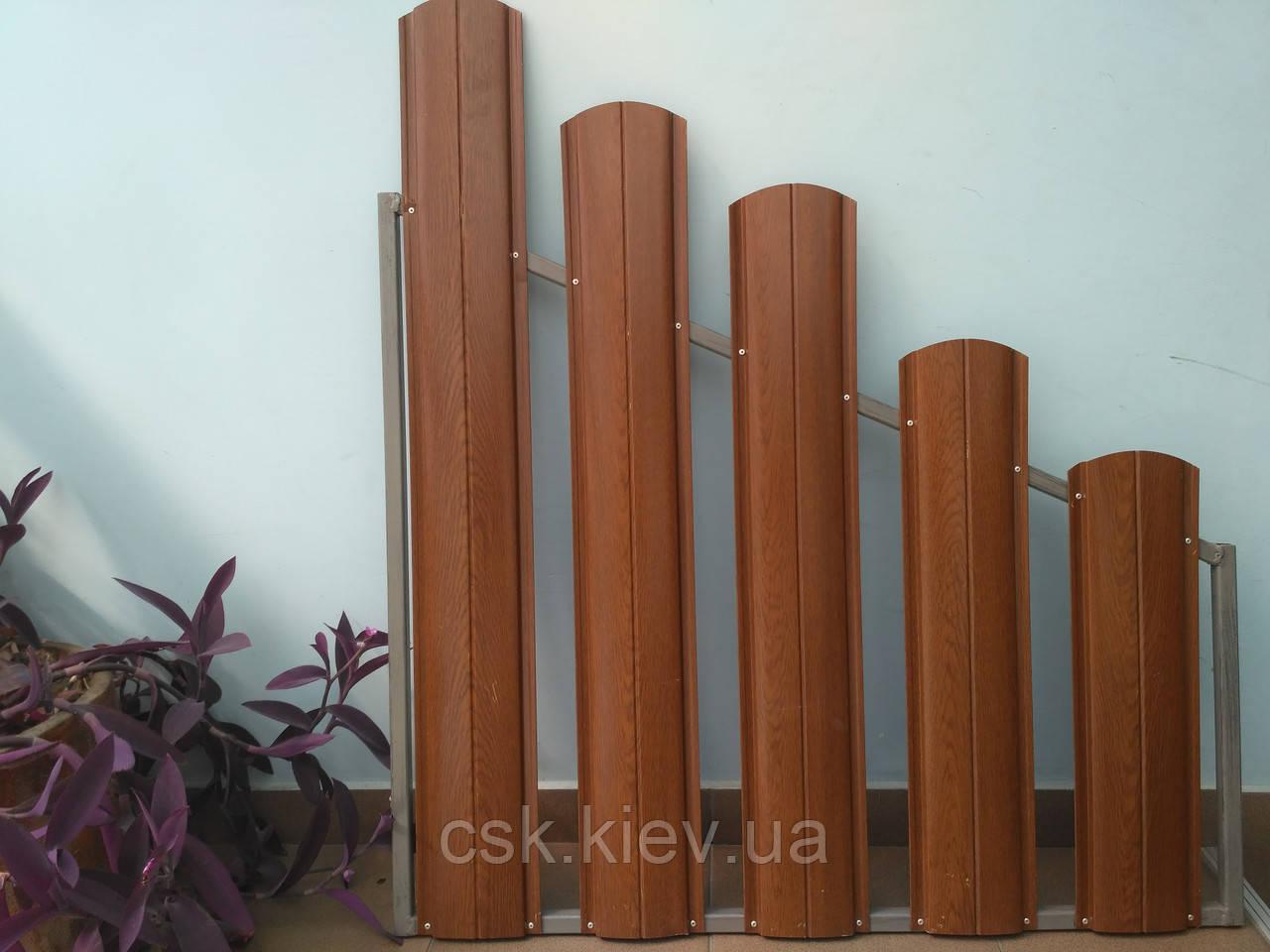 Металлический штакетник 0,45 PE (Китай)