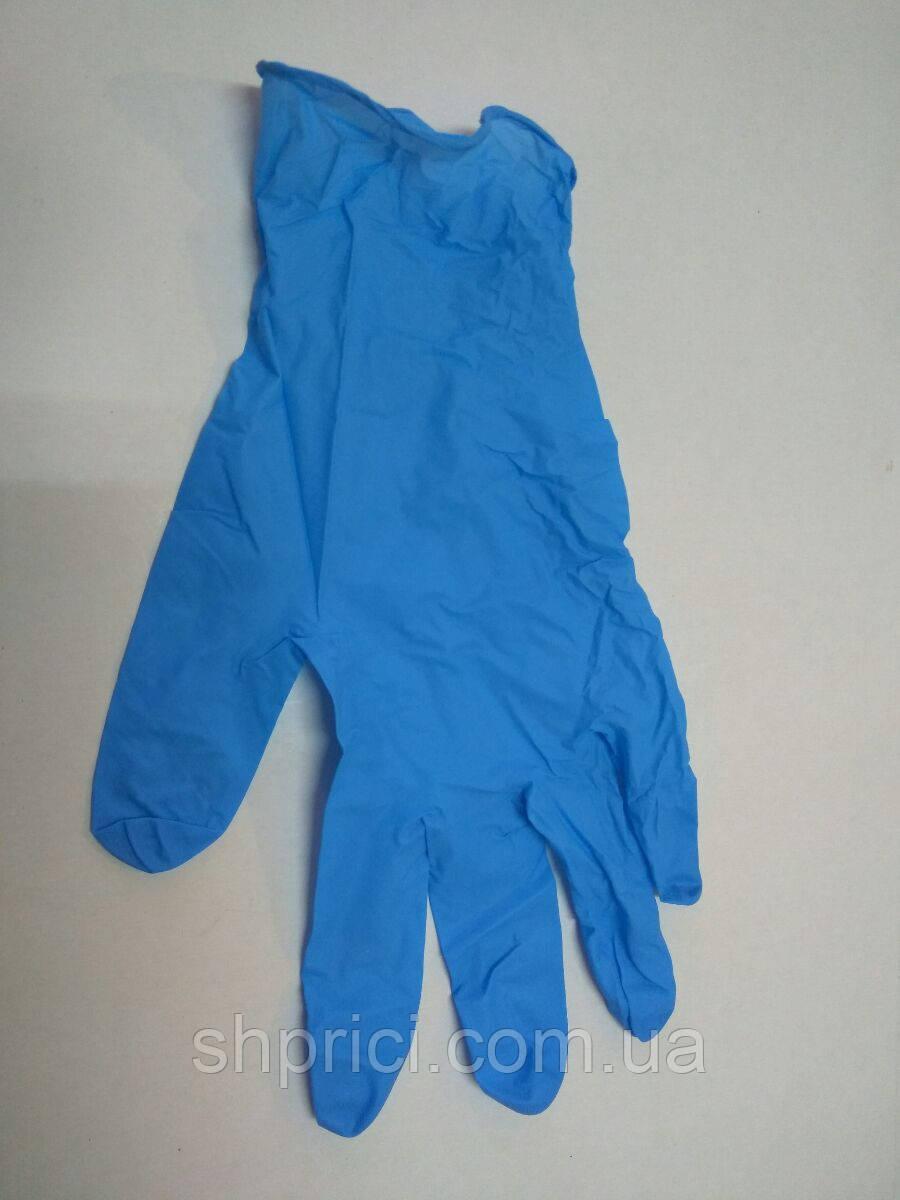 Перчатки нитриловые нестерильные, неопудренные / размер M / Care 365