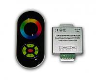 Сенсорный радио контроллер RGB Black (18А)